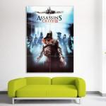 โปสเตอร์ ขนาดใหญ่ เกมส์ Assassin's Creed Brotherhood