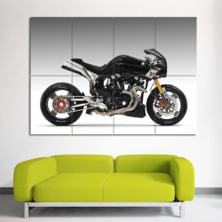 Yamaha MT-0S  Concept Bike Motorcycle Block Giant Poster Art Prints  (P-0009)