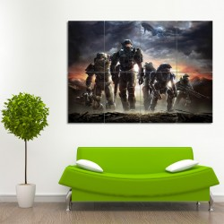 Halo Reach Block Giant Wall Art Poster (P-0012)