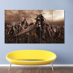 Dissidia Final Fantasy #1 Block Giant Wall Art Poster (P-0017)
