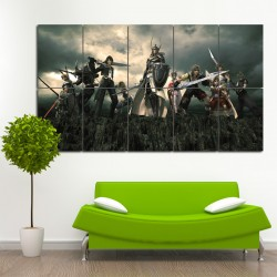 Dissidia Final Fantasy VII #2 Block Giant Wall Art Poster (P-0018)