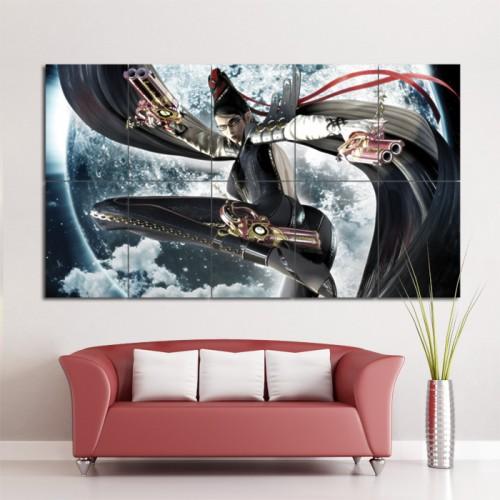 Bayonetta Video Games Block Giant Wall Art Poster