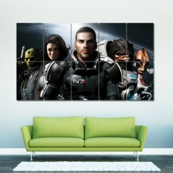 Mass Effect Block Giant Wall Art Poster (P-0020)