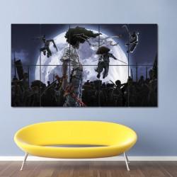 Afro Samurai Wand-Kunstdruck Riesenposter (P-0021)