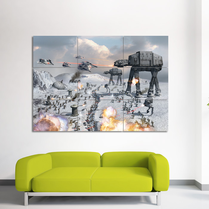 Star wars Empire at War Wand-Kunstdruck Riesenposter