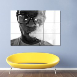 Kid Cudi Smoking Block Giant Wall Art Poster (P-0028)