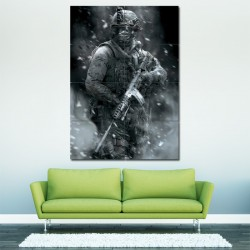 Call Of Duty Modern Block Giant Wall Art Poster (P-0029)