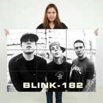 Blink 182 Music Block Giant Wall Art Poster