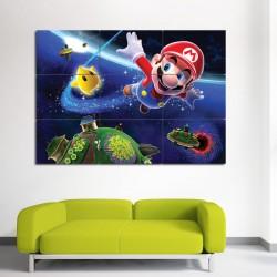 โปสเตอร์ ขนาดใหญ่เกมส์ ซุปเปอร์มาริโอ้ กาแลคซี่ Super Mario Galaxy (P-0036)