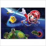 Super Mario Galaxy Block Giant Wall Art Poster