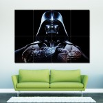 Star Wars Darth Vader  The Force Unleashed Block Giant Wall Art Poster