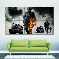 โปสเตอร์ ขนาดใหญ่ เกมส์ แบทเทิลฟิลด์ แบด คอมปานี Battlefield  Bad Company (P-0051)
