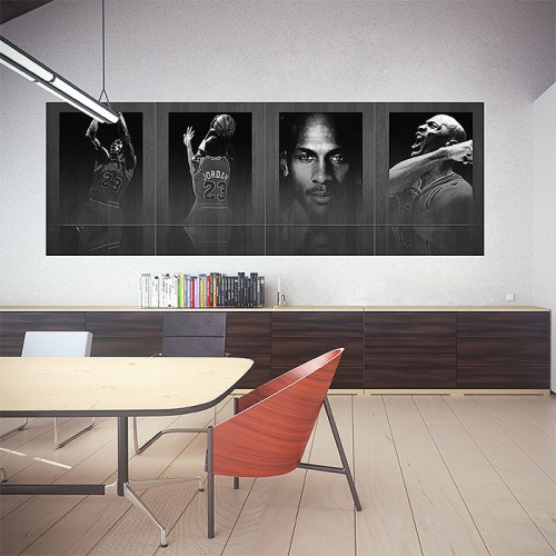 โปสเตอร์ ขนาดใหญ่ ภาพนักกีฬา ไมเคิล จอร์แดน Michael Jordan