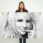 โปสเตอร์ ขนาดใหญ่ นักร้อง บริตนีย์ สเปียร์ Britney Spears
