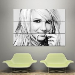 Britney Spears Block Giant Wall Art Poster (P-0065)