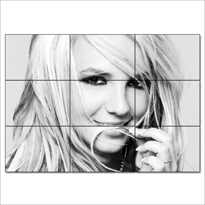515 Britney Spears Art Wall Cloth Poster Print