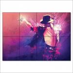 โปสเตอร์ ขนาดใหญ่ นักร้อง ไมเคิล แจ็คสัน Michael Jackson