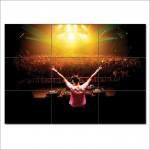 โปสเตอร์ ขนาดใหญ่ ภาพ ดีเจ เทสโต้ DJ Tiesto Music