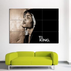 T.I. King Block Giant Wall Art Poster (P-0070)