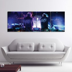 Daft Punk Block Giant Wall Art Poster (P-0081)