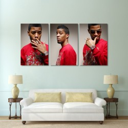 Kid Cudi Block Giant Wall Art Poster (P-0083)