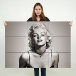 Marilyn Monroe #1 Block Giant Wall Art Poster