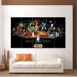 Star Wars Episode III Block Giant Wall Art Poster (P-0091)