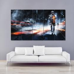 Battlefleld 3 Game Block Giant Wall Art Poster (P-0093)