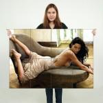 โปสเตอร์ ขนาดใหญ่ ภาพ แอนเจลีนา โจลี Angelina Jolie
