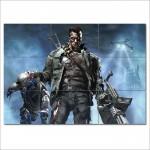โปสเตอร์ ขนาดใหญ่ ฅนเหล็ก  เทอร์มิเนเตอร์ Terminator  Arnold Schwarzenegger