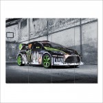 Ken Ford Fiesta Block Giant Wall Art Poster