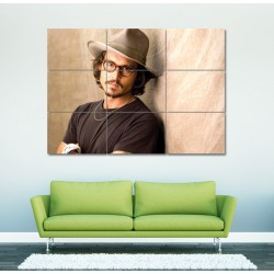 Johnny Depp  Block Giant Wall Art Poster (P-0100)