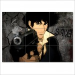 Cowboy Bebop Spike , Block Giant Wall Art Poster