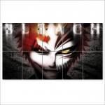 โปสเตอร์ ขนาดใหญ่ ภาพการ์ตูนอนิเมะ Bleach Hollow Ichigo ฮอลโลว์ อิจิโกะ