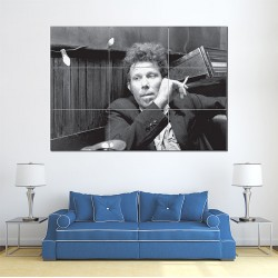Tom Waits Smoking Block Giant Wall Art Poster (P-0119)