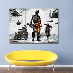 Battlefield Bad Company 2 Block Giant Wall Art Poster (P-0130)