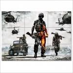 โปสเตอร์ ขนาดใหญ่  เกมส์ แบทเทิลฟิลด์ Battlefield