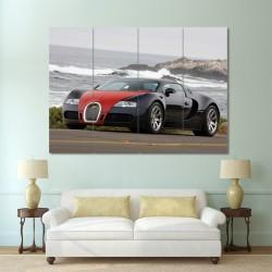 Bugatti Veyron Block Giant Wall Art Poster (P-0132)