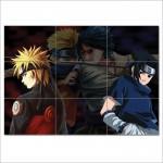 โปสเตอร์ ขนาดใหญ่  การ์ตูน Naruto VS Sasuke นารูโตะ