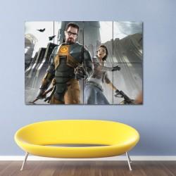 โปสเตอร์ ขนาดใหญ่ เกมส์ Half Life 2 ฮาล์ฟ ไลฟ์ 2 (P-0152)