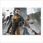 โปสเตอร์ ขนาดใหญ่ เกมส์ Half Life 2 ฮาล์ฟ ไลฟ์ 2