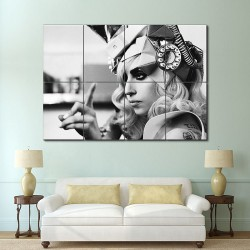 Lady Gaga Block Giant Wall Art Poster (P-0156)