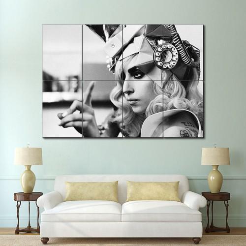 โปสเตอร์ ขนาดใหญ่ ภาพ เลดี้ กาก้า Lady Gaga