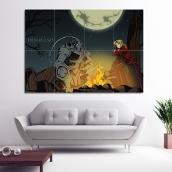 Fullmetal Alchemist indelible sin Block Giant Wall Art Poster (P-0171)