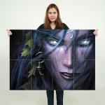 โปสเตอร์ ขนาดใหญ่ Warcraft 3 Reign Of Chaos