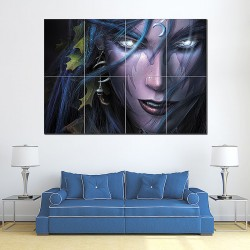 Warcraft 3 Reign Of Chaos Block Giant Wall Art Poster (P-0180)