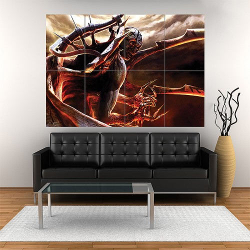 Clive Barkers Jericho Block Giant Wall Art Poster