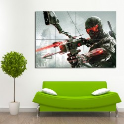 Crysis 3 Video Games Block Giant Wall Art Poster (P-0193)