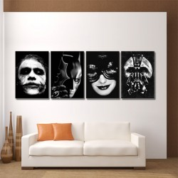 Dark Knight Batman Block Giant Wall Art Poster (P-0194)