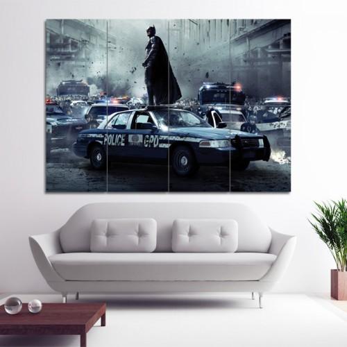 โปสเตอร์ ขนาดใหญ่ หนัง แบทแมน Batman Christian Bale